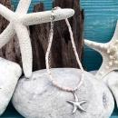 shell&starfish ピンク×シルバー