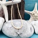 shell&starfish オレンジ×シルバー